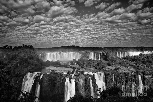 Wall Art - Photograph - Iguacu Falls by Keith Kapple