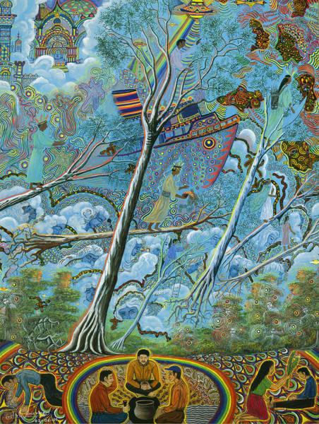 Art Print featuring the painting Ila  by Pablo Amaringo