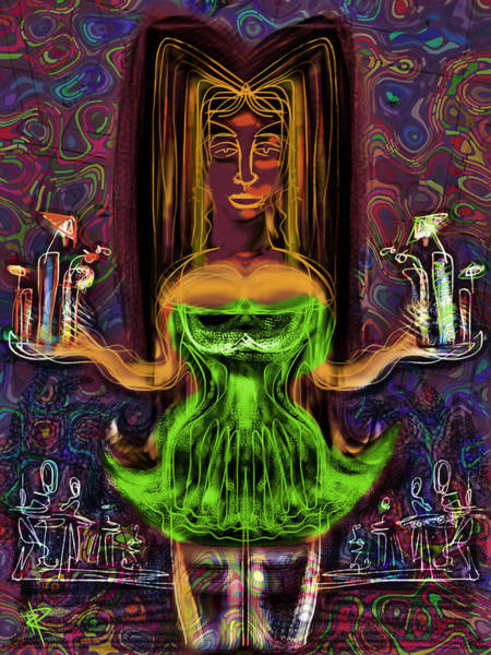 Groovy Mixed Media - I'll Have Another Harvey Wallbanger by Russell Pierce