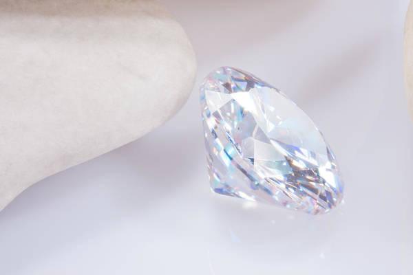 Allure Wall Art - Jewelry - Illuminate Diamond by Atiketta Sangasaeng