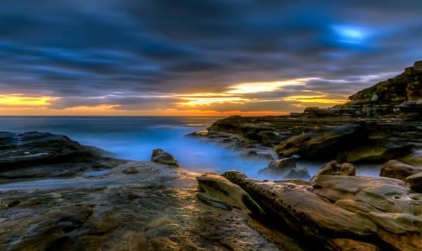 Photograph - Illuminated Rock by Mark Lucey