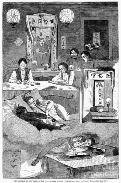 Immigrants: Chinese, 1874 Art Print
