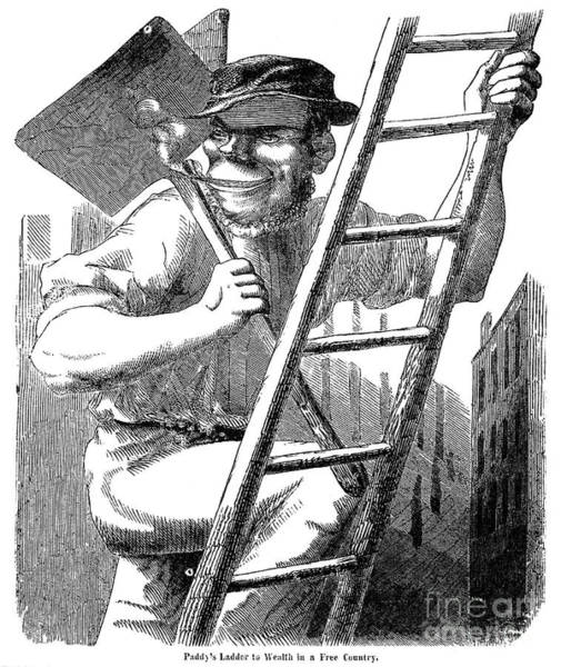 Photograph - Immigrants: Irish, 1852 by Granger