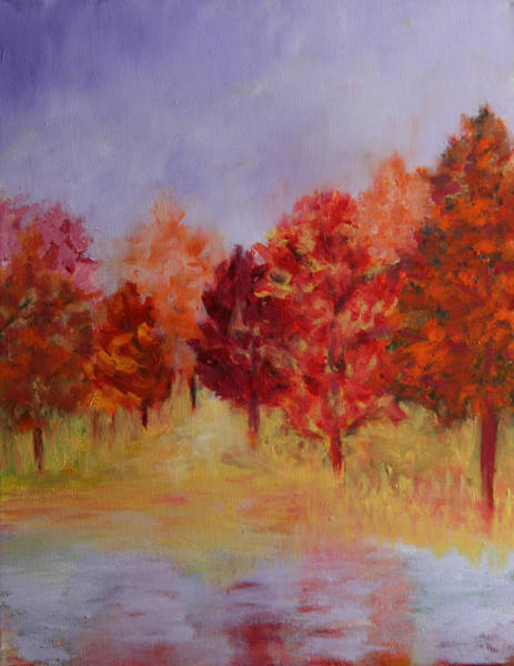 Painting - Impression Of Fall by Karin Eisermann