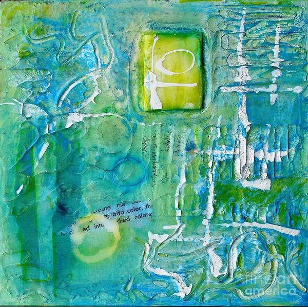 Painting - Imprintation 2 by Phyllis Howard