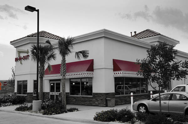 Hurst Wall Art - Photograph - In-n-out II by Ricky Barnard