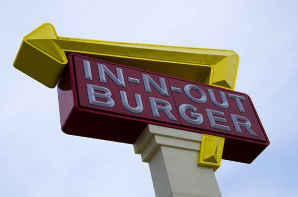 Hurst Wall Art - Photograph - In-n-out IIi by Ricky Barnard