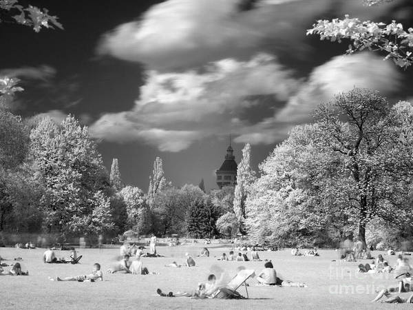 Photograph - In Park II by Odon Czintos
