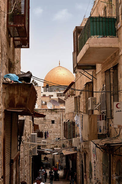 Photograph - In The Arab Quarter by Endre Balogh