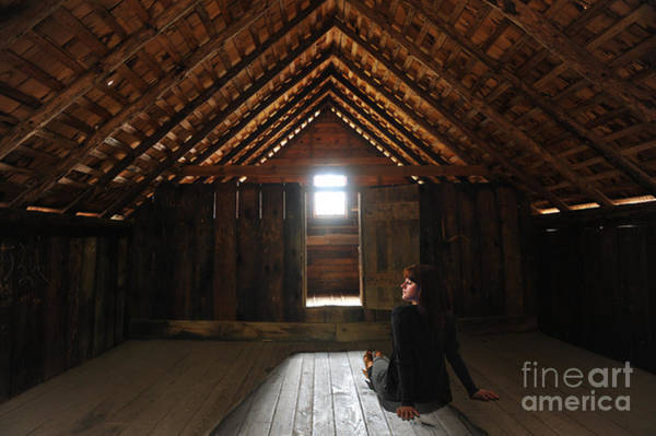 Photograph - In The Attic by Dan Friend