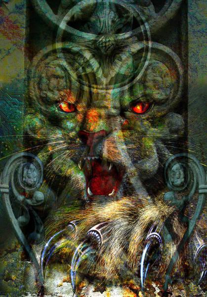 Paw Digital Art - In The Dark. by Nato  Gomes