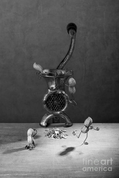 Bizarre Wall Art - Photograph - In The Meat Grinder 02 by Nailia Schwarz