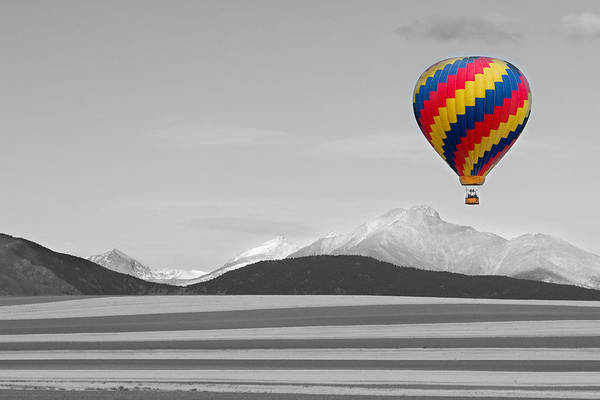 Photograph - In Their Own World Colorado Ballooning by James BO Insogna
