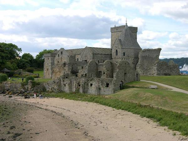 Photograph - Inchcolm Island Abbey by Keith Stokes
