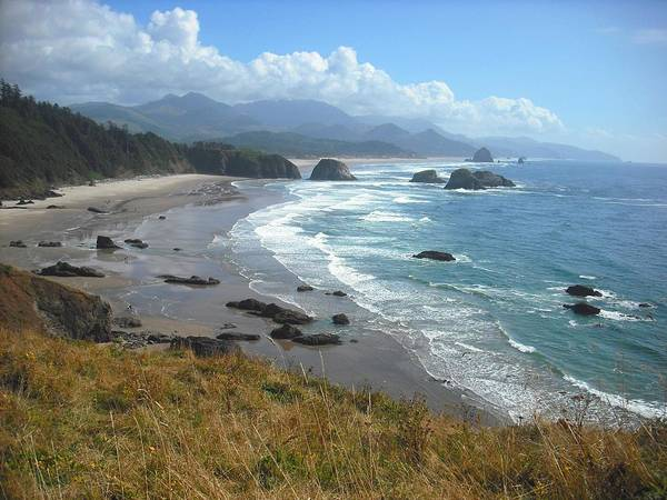Photograph - Indian Beach Ecola State Park by Kelly Manning