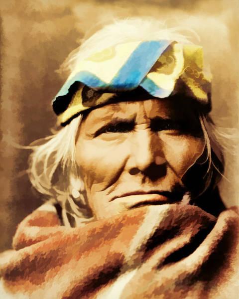 Digital Art - Indian Eyes by Rick Wicker