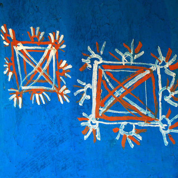 Madhubani Photograph - Indian Rral Wall Art by C R Shelare