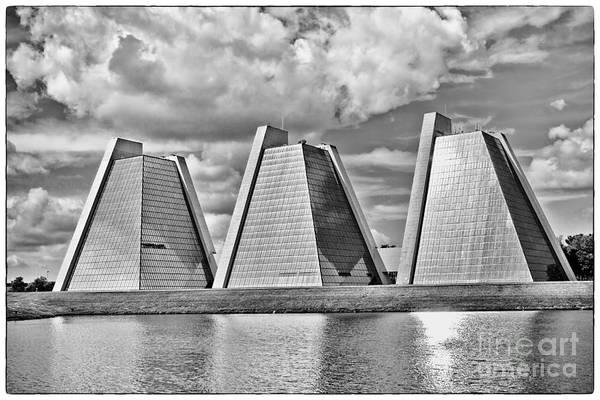 Photograph - Indianapolis Pyramids by David Haskett II