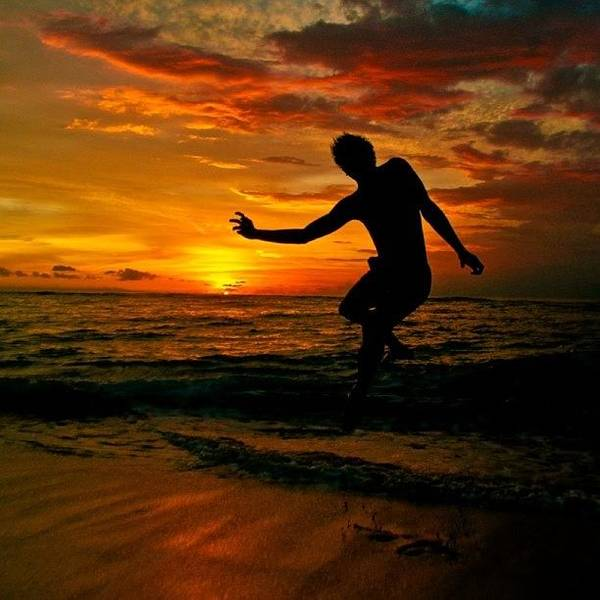 Wall Art - Photograph - #indonesia #beach #sunset #lombok by Rudi Gunawan