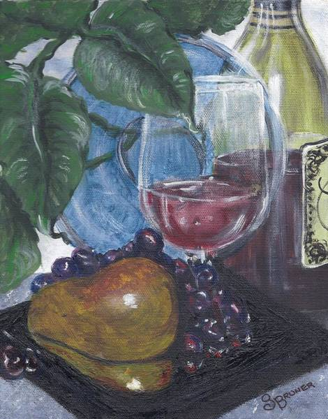 Glass Cutting Painting - Indulgence by Susan Bruner