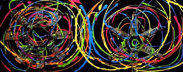 Painting - Industrial by Cyryn Fyrcyd
