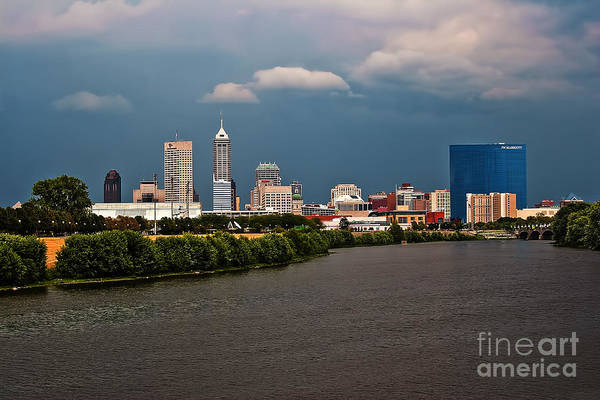 Photograph - Indy Hdr Storm by David Haskett II