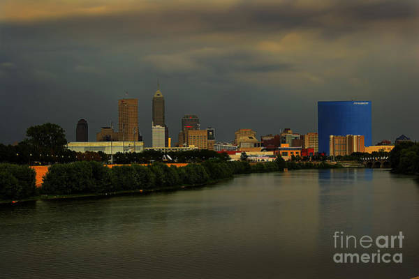 Photograph - Indy Storm 2 by David Haskett II