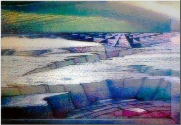 Painting - Infinity 1982 by Glenn Bautista