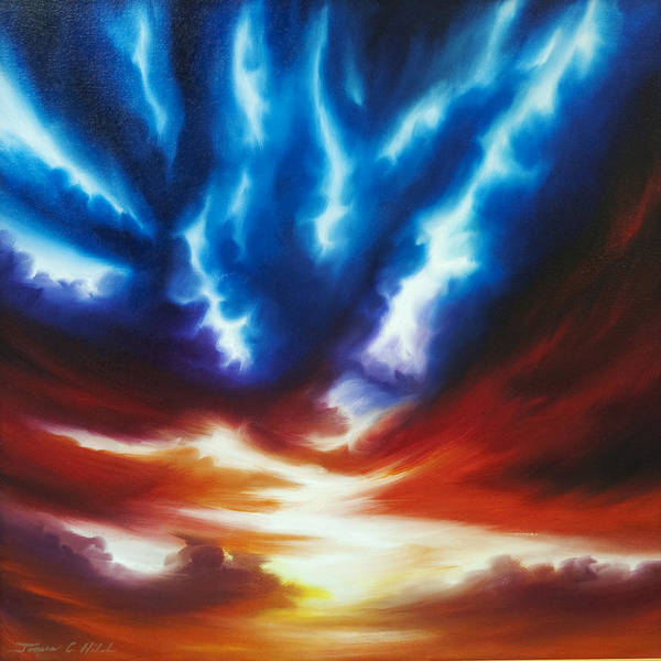Painting - Infinity II by James Christopher Hill
