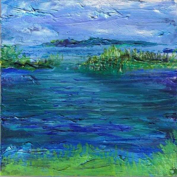 Painting - Inlet by Regina Valluzzi