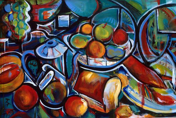 Painting - Inner Feast by John Jr Gholson