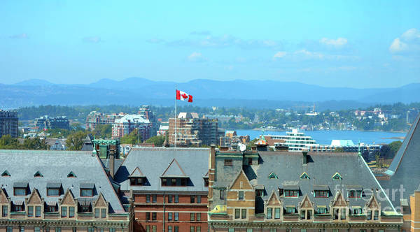 Photograph - Inner Harbour As Seen  Via Marriot Window by Traci Cottingham