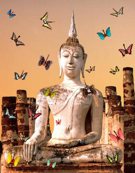 Digital Art - Inner Peace  by Eric Kempson