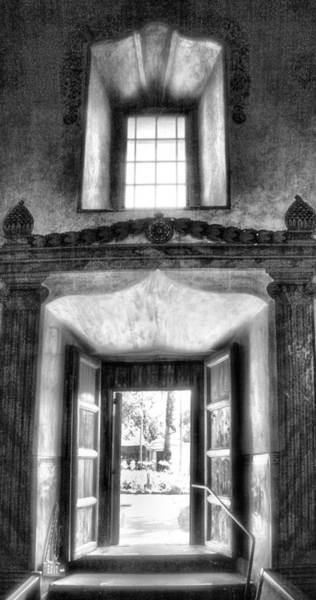 Mission Santa Barbara Photograph - Inside Outside Worlds by Steven Ainsworth