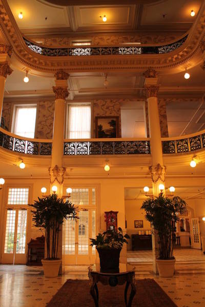 Photograph - Inside The Menger Hotel by Sarah Broadmeadow-Thomas