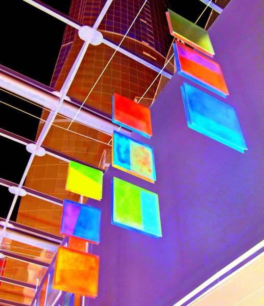 Vancouver Digital Art - Inside Wall Center 1 by Randall Weidner