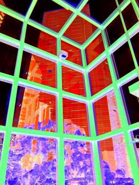 Vancouver Digital Art - Inside Wall Center 2 by Randall Weidner
