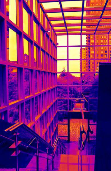 Vancouver Digital Art - Inside Wall Center 4 by Randall Weidner