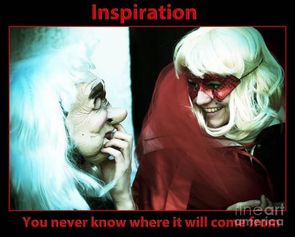 Photograph - Inspiration by John Rizzuto