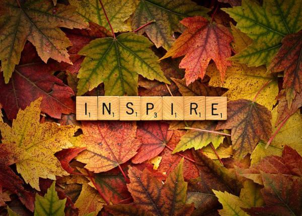 Photograph - Inspire-autumn by  Onyonet  Photo Studios