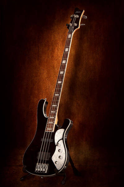 Photograph - Instrument - Guitar - High Strung by Mike Savad