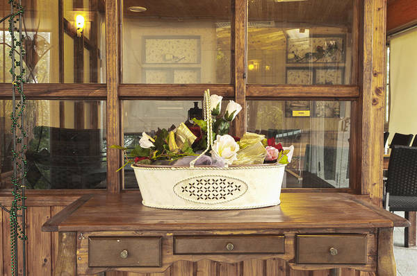 Chest Of Drawers Photograph - Interior Of A Country Restaurant. Bar by Lawren Lu