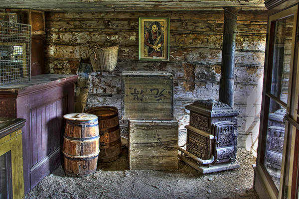 Coolie Photograph - Interior Of Old-west Chinese Store - Nevada City Montana by Daniel Hagerman