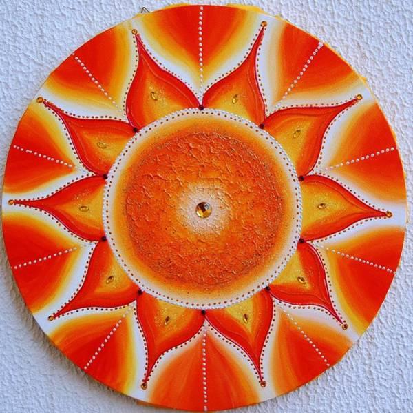 Acrilic Painting - Interior Sun by Carla Marcelo