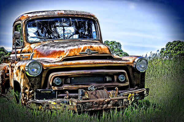 Photograph - International Truck Alone And Rusting by William Havle