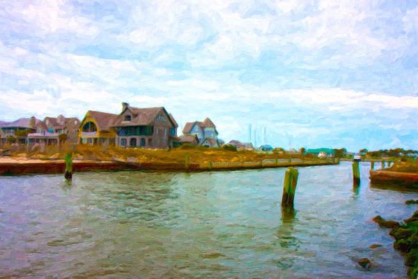 Nc Digital Art - Into The Marina by Betsy Knapp