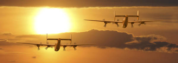 B24 Photograph - Into The Sun 2 by Mike McGlothlen