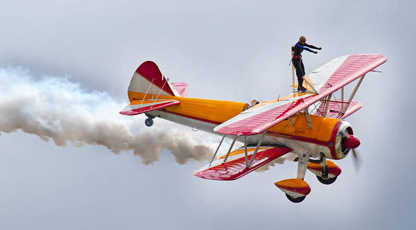 Air Show Photograph - Into The Wind by Betsy Knapp