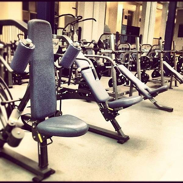 Workout Wall Art - Photograph - Intramural Sports Building by Nish K.