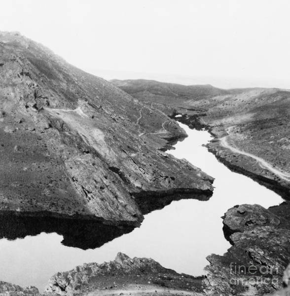 Photograph - Iraq: Oil River, C1932 by Granger